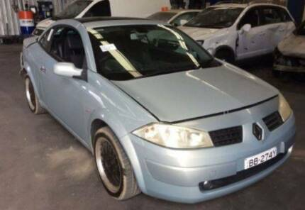 WRECKING RENAULT MEGANE CONVERTIBLE 2004 STOCK NO: 7278 Wingfield Port Adelaide Area Preview