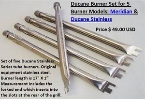 Gas Grill Burner Replacement Stainless Steel BBQ Parts