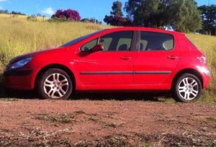 .00 PEUGEOT 307 2003 AUTO RED WRECKING DELVD FREE AUS WIDE