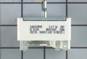 "WB24T10029 replaces: 769696, AP2024076.  WG02F00292 GE Range Surface Element Switch for a 6"" element"
