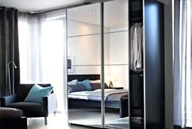 Pax Auli Mirror Sliding doors
