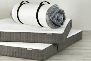 Ikea Queen Size Firm Morgedal Foam Mattress