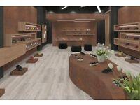 NEW Laminate Flooring 3.98m2 Egger EHL015 Toscolono Oak Light