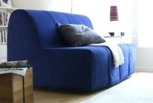 Ikea Lycksele sofa bed (blue cover included)