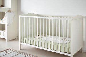 Ikea Large Adjustable Crib
