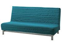 Ikea Sofa Bed in Torquoise