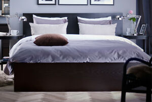 QUEEN SIZE - Kingsdown Mattress and IKEA bed