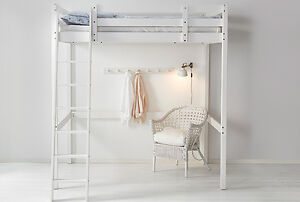 Stora Ikea Loft or Bunk Bed White, New.