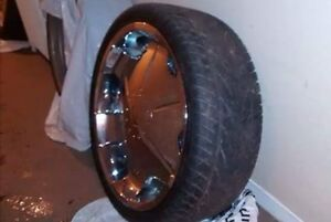 22 inch universal rims with tires