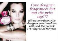 FM FRAGRANCES Desinger perfumes at a fraction of the price!