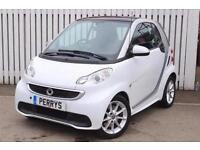 2013 Smart ForTwo Coupe Passion mhd 2 door Softouch Auto [2010] Petrol Coupe