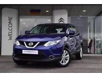 2014 Nissan Qashqai 1.2 DiG-T Acenta [Smart Vision Pack] 5 door Petrol Hatchback