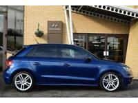 2013 Audi A1 1.4 TFSI S Line 5 door S Tronic Petrol Hatchback