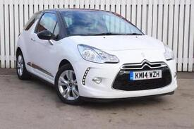 2014 Citroen DS3 1.6 e-HDi Airdream DStyle 3 door Diesel Hatchback