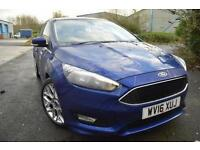 2016 Ford Focus 1.0 EcoBoost 125 Zetec S Navigation 5 door Petrol Hatchback