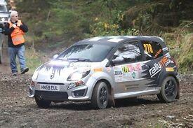 Rally car - Renault Twingo RS133