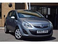 2012 Vauxhall Corsa 1.3 CDTi ecoFLEX Exclusiv 5 door [AC] [Start Stop] Diesel Ha