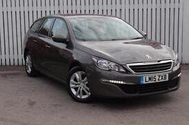 2015 Peugeot 308 SW 1.6 BlueHDi 120 Active 5 door Diesel Estate