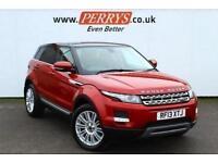 2013 Land Rover Range Rover Evoque 2.2 SD4 Prestige 5 door Auto [Lux Pack] Diese
