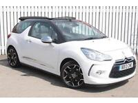 2013 Citroen DS3 1.6 THP DSport Plus 2 door Petrol Convertible