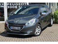 2014 Peugeot 208 1.2 VTi Style 3 door Petrol Hatchback