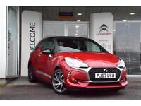 2017 Citroen DS3 1.2 PureTech 82 Connected Chic 3 door Petrol Hatchback