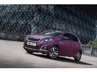 2016 Peugeot 108 1.0 Active 5 door 2-Tronic Petrol Hatchback