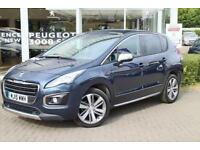 2015 Peugeot 3008 1.6 BlueHDi 120 Allure 5 door Diesel Estate