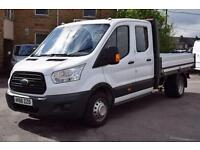 2016 Ford Transit 2.2 TDCi 125ps Double Cab Dropside Diesel Van