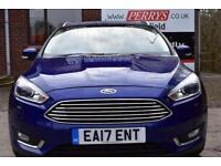 2017 Ford Focus 2.0 TDCi Titanium X 5 door Powershift Diesel Estate