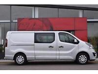 2017 Vauxhall Vivaro 2900 1.6CDTI BiTurbo 125PS Sportive H1 D/Cab Diesel Van