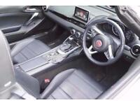 2017 Fiat 124 Spider 1.4 Multiair Lusso Plus 2 door Auto Petrol Convertible