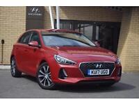 2017 Hyundai i30 1.0T GDI SE Nav 5 door Petrol Hatchback