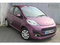 2013 Peugeot 107 1.0 Active 5 door Petrol Hatchback