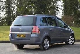 2007 Vauxhall Zafira 1.6i Club 5 door Petrol People Carrier