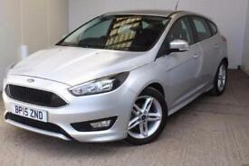 2015 Ford Focus 1.0 EcoBoost 125 Zetec S 5 door Petrol Hatchback