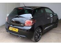 2015 Citroen DS3 1.2 PureTech 110 Dark Light 3 door EAT6 Petrol Hatchback