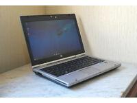 "Superb condition, mega fast HP EliteBook 12.5"" i5 USB 3.0 laptop."
