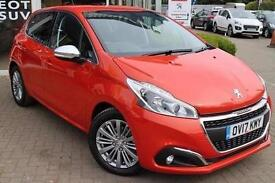 2017 Peugeot 208 1.2 PureTech 110 Allure 5 door EAT6 Petrol Hatchback