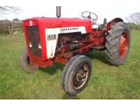 INTERNATIONAL 434 ROAD REG TRACTOR FULLY WORKS SEE VIDEO CAN DELIVER NO VAT