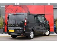 2017 Vauxhall Vivaro 2900 1.6CDTI 120PS Sportive H1 DoubleCab Diesel Van