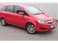 2013 Vauxhall Zafira 1.6i [115] Design 5 door Petrol People Carrier