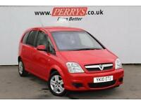 2010 Vauxhall Meriva 1.4i 16V Active 5 door Petrol Estate