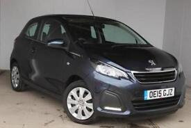2015 Peugeot 108 1.0 Active 3 door Petrol Hatchback