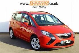 2014 Vauxhall Zafira Tourer 1.4T Exclusiv 5 door Petrol Estate
