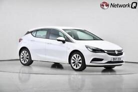 2017 Vauxhall Astra 1.0T 12V ecoFLEX Design 5 door Petrol Hatchback