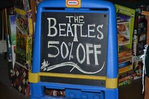 Fun Collectibles Shop & Records Store 50% OFF BEATLES THIS WEEK!