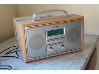 Bush DAB radio.