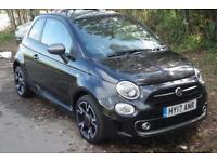 2017 Fiat 500 1.2 S 3 door Petrol Hatchback
