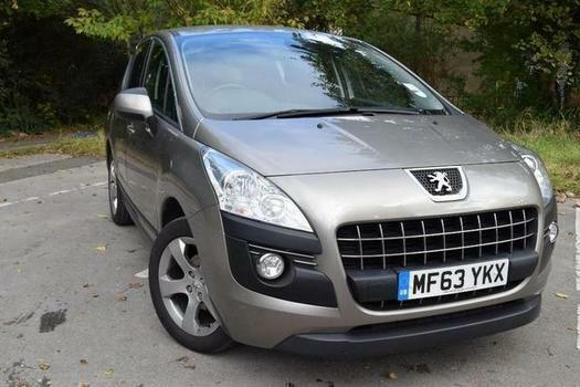 2013 Peugeot 3008 1.6 e-HDi 115 Active II 5 door EGC Diesel Estate